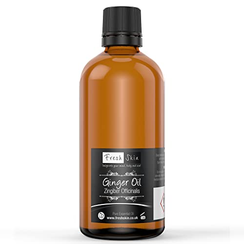 100ml Ginger Pure Essential Oil from Freshskin Beauty
