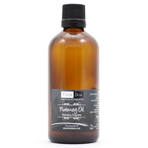 100ml Nutmeg Pure Essential Oil from Freshskin