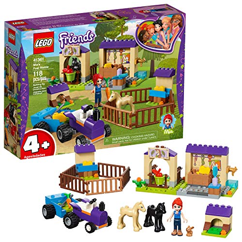 Friends LEGO 4+ Mia's Foal Stable 41361 Building Kit , New 2019 (118 Piece) from LEGO