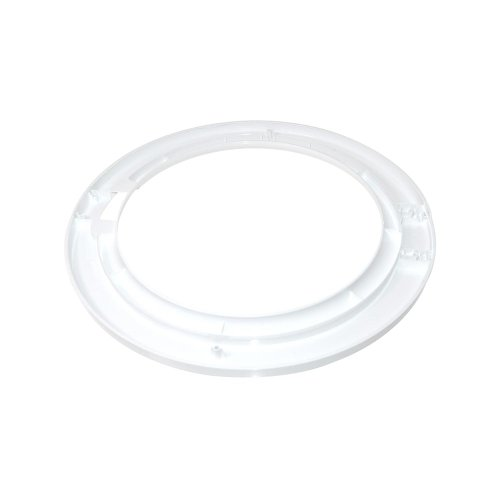 White Outer Door Trim Frame for Frigidaire Washing Machine Equivalent to As0004866 from Frigidaire