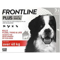 Frontline  Plus Spot On Dog XL (Over 40Kg) 3 Pipettes from Frontline