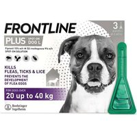 Frontline  Plus Spot On Dogs 20-40kg 3 Pipettes from Frontline