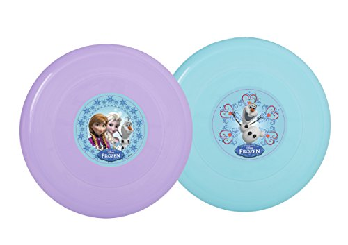 23cm Disney Frozen Flying Disc / Frisbee - Purple With Frozen Design- Outdoor Toys from Disney