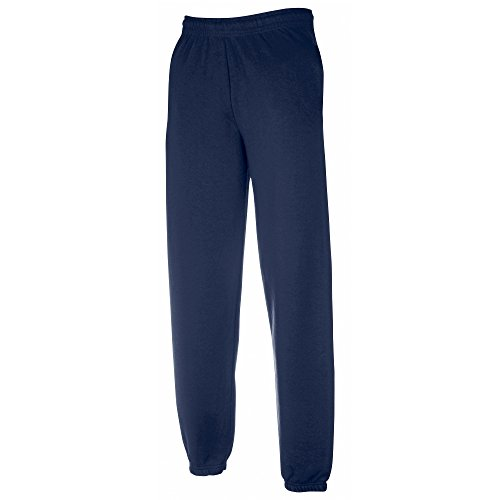 Fruit Of The Loom Childrens/Kids Unisex Jog Pants / Jogging Bottoms (12-13 Years) (Navy) from Fruit of the Loom