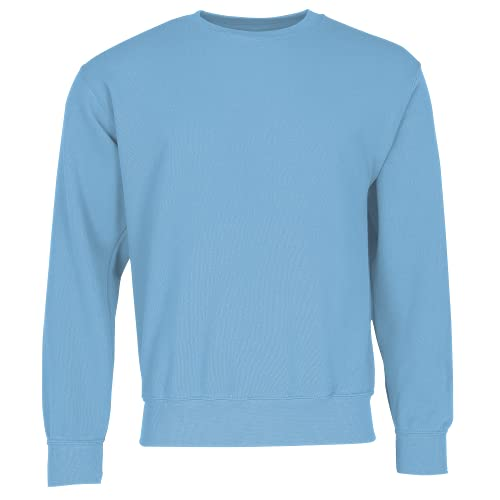 Fruit of the Loom Men's Set-In Classic Sweater, Sky, XX-Large from Fruit of the Loom