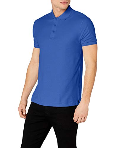 Fruit of the Loom Men's Premium Short Sleeve Polo Shirt, Royal, X-Large from Fruit of the Loom