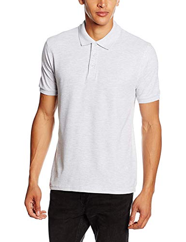 Fruit of the Loom Men's Premium Short Sleeve Polo Shirt, Heather Grey, X-Large from Fruit of the Loom