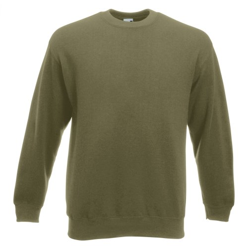 Fruit of the Loom Unisex Premium 70/30 Set-In Sweatshirt (2XL) (Classic Olive) from Fruit of the Loom