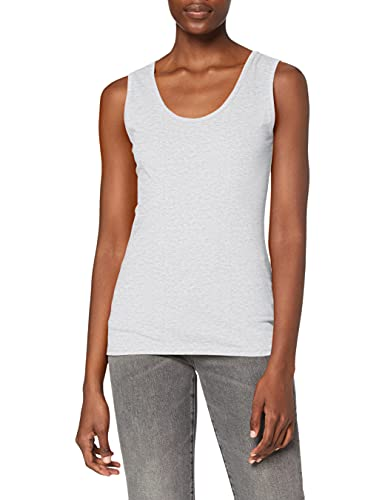 Fruit Of The Loom Women's SS077M Tank Top, Grey (Heather Grey), 18 (Manufacturer Size:XX-Large) from Fruit of the Loom