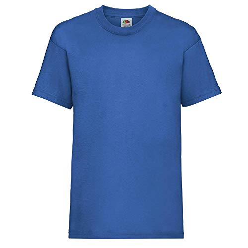 Fruit of the Loom Childrens T Shirt in Royal Size 3-4 (SS6B) from Fruit of the Loom