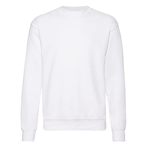 Fruit of the Loom Men's 62-202-0 Sweatshirt, White, Small from Fruit of the Loom