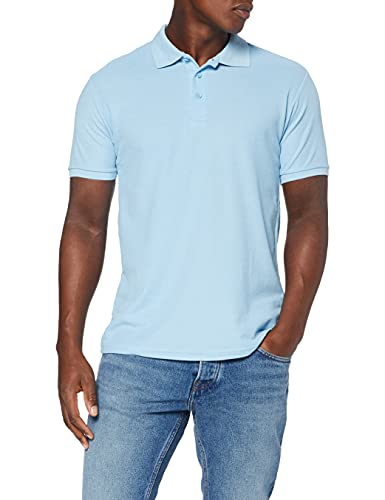 Fruit of the Loom Men's 65/35 Polo Shirt, Sky, XX-Large from Fruit of the Loom