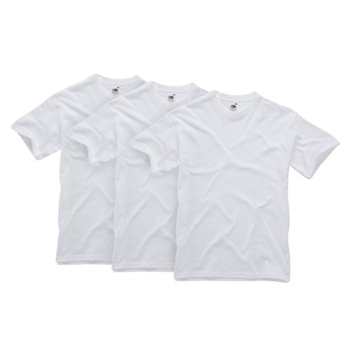 Fruit of the Loom Men's American Original 3-Pack T-Shirt White - X-Large from Fruit of the Loom