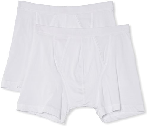 Fruit of the Loom Men's Classic 2 Pack Boxer Shorts, White, XX-Large from Fruit of the Loom
