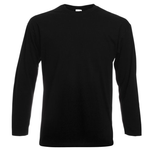 Fruit of the Loom Men's Pullover - Black - L from Fruit of the Loom