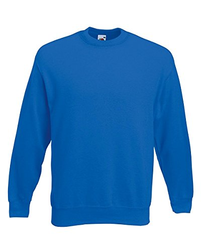 Fruit of the Loom Men's Set-In Classic Sweater, Royal, Large from Fruit of the Loom