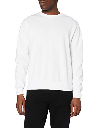 Fruit of the Loom Men's Set-In Classic Sweater, White, XXX-Large from Fruit of the Loom