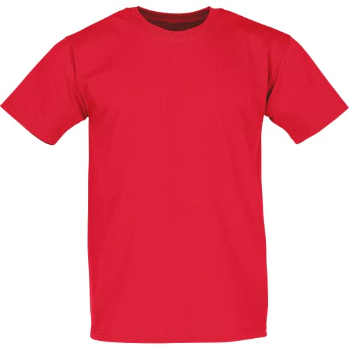 Fruit of the Loom Men's Super Premium Short Sleeve T-Shirt, Red, Small from Fruit of the Loom