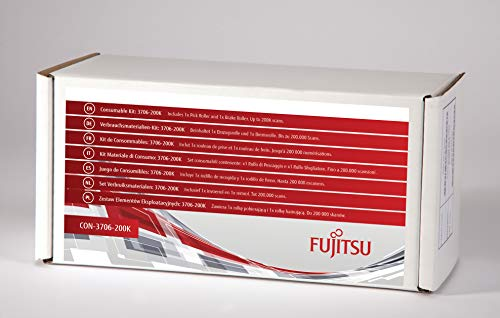 Fujitsu CON-3706-200K Consumable Kit N7100 & fi-7030 - (Printers > Printer Accessories) from Fujitsu