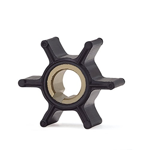 Full Power Plus Water Pump Impeller Replacement for CEF 500358 Johnson/Evinrude 387361/763735 Sierra 18-3090 2/4/6HP from Full Power Plus