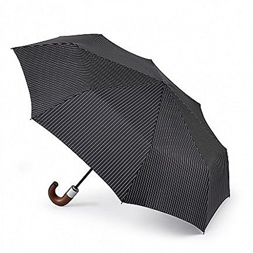 Fulton Chelsea Umbrella City Stripe Black from Fulton