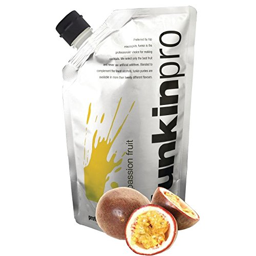 Funkin Passion Fruit Puree Cocktail Beverage Mixer Natural Fruit Nut Spice Water Sucralose Cooking Baking Grocery Bakery Home Kitchen Restaurant Bar Passion fruit. 1kg. Sold Singly from Funkin