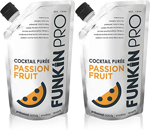Funkinpro Passion Fruit Puree 1kg Pouch x 2 Pack from Funkin