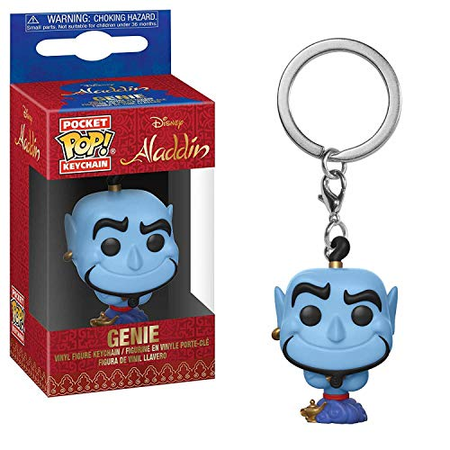 Funko 35932 Pocket POP Keychain: Disney: Aladdin: Genie, Multi from Funko