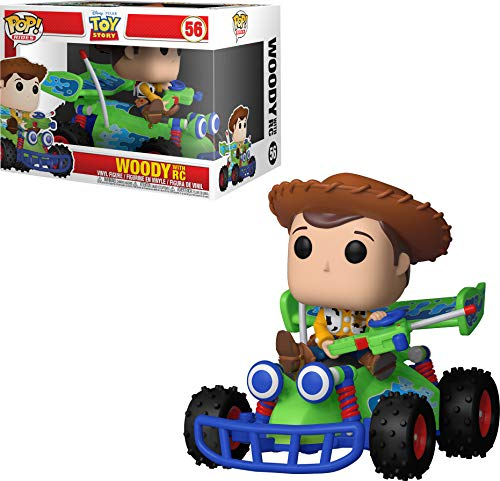 Funko 37016 POP Rides: Toy Story-Woody with RC Collectible Figure, Multicolour from Funko