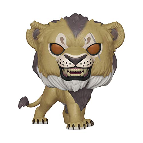 Funko 38546 POP Disney: The Lion King (Live Action) - Scar Vinyl, Multi from Funko