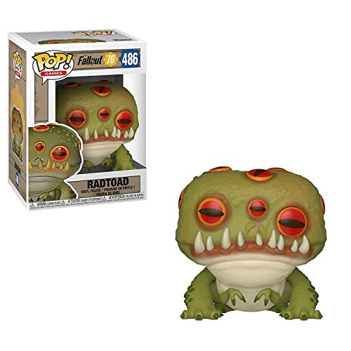 Funko 39043 POP. Vinyl: Fallout 76: Radtoad, Multi from Funko