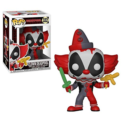FUNKO POP! MARVEL: Deadpool Playtime - Deadpool Clown from Funko