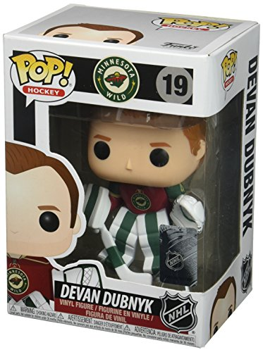 "Funko 21355 ""POP! Vinyl NHL Devan Dubnyk Home Jersey"" Figure from Funko"