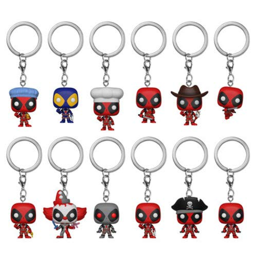 FUNKO KEYCHAIN: Deadpool (One Random Keychain Per Purchase) from Funko