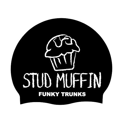 Funky Trunks Stud Muffin Silicone Swim Cap from Funky Trunks