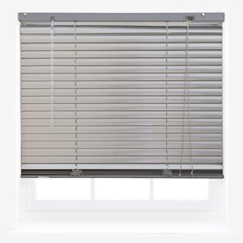 FURNISHED Silver Aluminum Venetian Window Blinds Home Office Blind New - 135cm x 210cm from FURNISHED