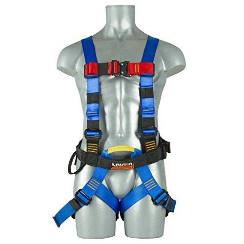Fusion Climb Streak Racer Full Body Padded Zipline H Style Harness Blue Size M-L from Fusion Climb