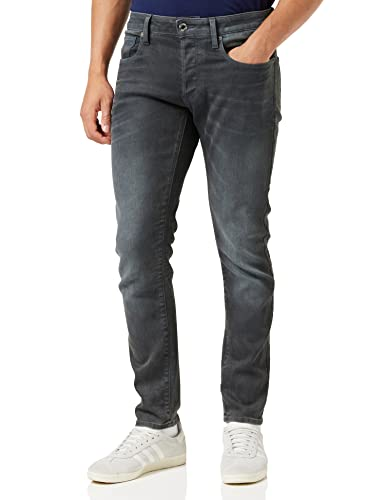 G-STAR RAW Men's 3301 Slim Jeans, Grey (Dk Aged Cobler 3143), W29/L32 from G-STAR RAW