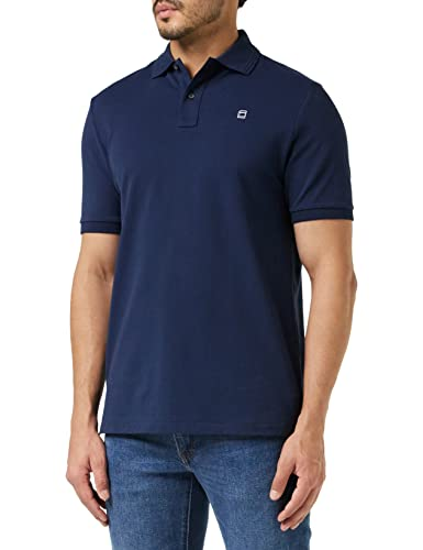 G-STAR RAW Men's Dunda Polo S/s Shirt, (Sartho Blue 6067), Large from G-STAR RAW