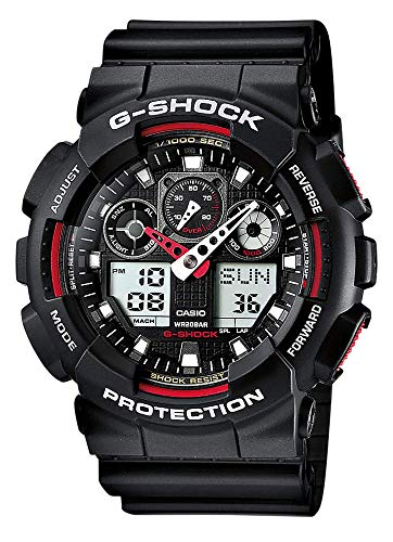 Casio G-Shock Men's Watch GA-100-1A4ER from Casio
