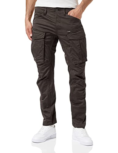 G-STAR RAW Men's Rovic Zip 3D Straight Tapered Trousers, Black (Raven 5126-976), 38W / 32L from G-STAR RAW