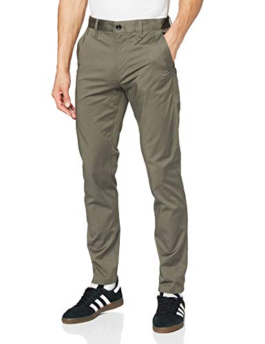 G-STAR RAW Men's Bronson Slim Chino Trousers, Grey (gs Grey 5126-1260), 30W / 32L from G-STAR RAW
