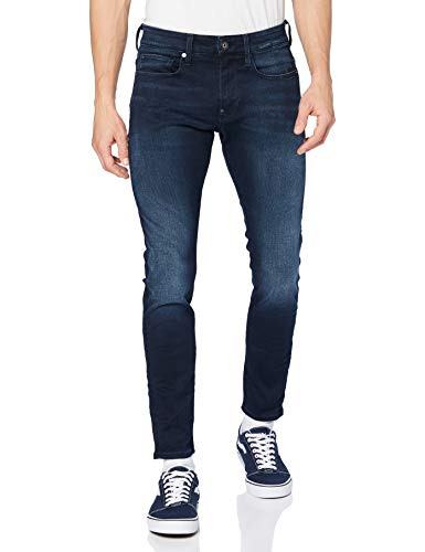 G-STAR RAW Men's Revend Skinny Jeans, Blue (dk Aged 6590-89), 32W / 32L from G-STAR RAW