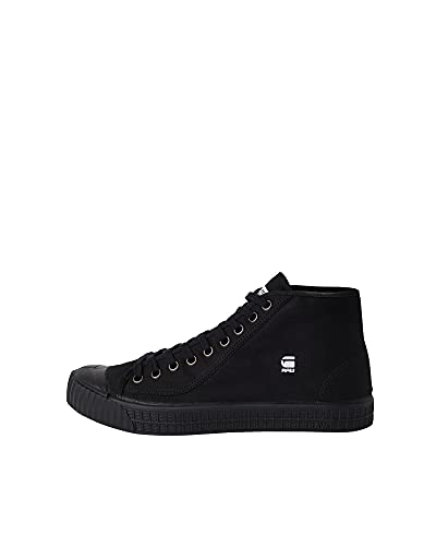 G-STAR RAW Rovulc HB, Men's Mid Ankle Sneakers, Black, 12 UK (46 EU) from G-STAR RAW