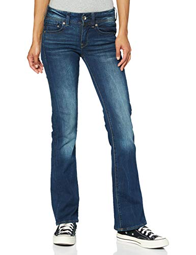 G-STAR RAW Women's Midge Saddle Mid Skinny Bootcut Wmn Jeans, Blue (Dk Aged 89), W27/L32 from G-STAR RAW