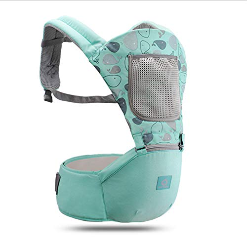 G-Tree Hands Free Shoulder Travel Baby Child Carrier, Adjustable Straps Infants Babies Toddlers Newborns Wrap Carrier- Men/Women- Green from G-Tree