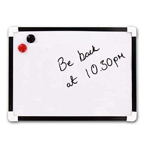 Original A4 Dry Wipe Magnetic Whiteboard Mini Office Notice Memo White Board and Eraser from G4GADGET
