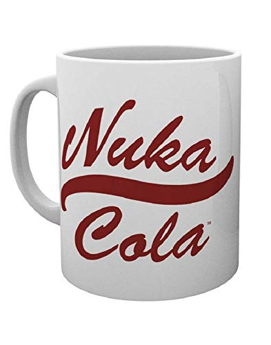 "GB Eye""Fallout 4, Nuka Cola"" Mug, Multi-Colour from GB Eye Limited"