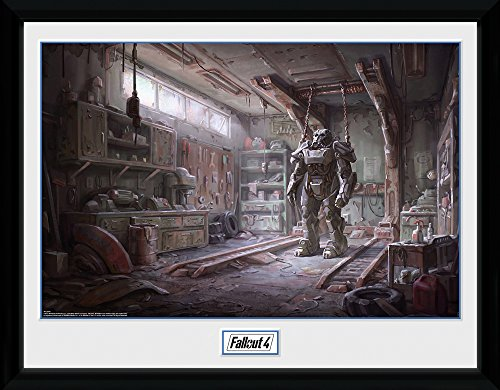 "GB Eye""Fallout 4, Red Rocket Interior"" Framed Photograph, Multi-Colour, 40 x 30 cm from GB Eye Limited"