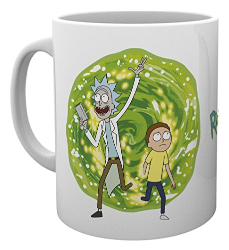 GB Eye LTD, Rick and Morty, Portal, Mug from GB Eye Limited